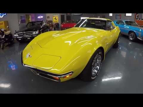 1972 Corvette Stingray Coupe - Sunflower Yellow/Black, #'s Match, 60,030mi - Seven Hills Motorcars