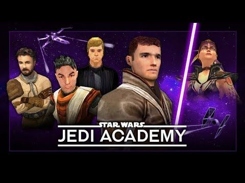 STAR WARS: Jedi Academy ? The Movie / All Cutscenes ?1080p HD?