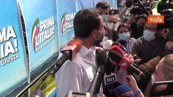Matteo Salvini in piazza a Roma: Perché siamo qui, dopo un anno di paura
