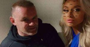 Wayne Rooney, festino con la