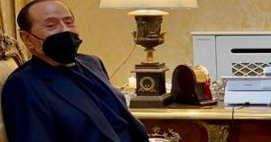 Silvio Berlusconi alla festa della Lega: