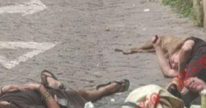Roma, ecco come muore un clochard in pieno centro: Virginia Raggi che dice? Attenzione, immagini forti