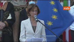 Ponte di Genova, Marta Cartabia si commuove: