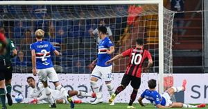 Serie A, basta un gol al Milan: contro la Samp decide Diaz. Subito Maignan protagonista