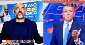 Zona Bianca, Gianluigi Paragone sbrocca contro Giuseppe Brindisi: