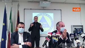 Luca Zaia, assist a Matteo Salvini: