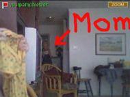 Mom Catches Daughter Sucking Cock On Webcam[AVI]