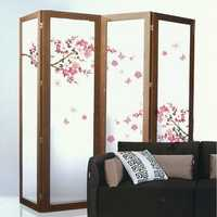 Plum Blossom Butterfly Wall Stickers Removable Decal Home Art Decor Wall Vinyl