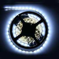 5M Non-Waterproof Cool White 3528 SMD 300 LED Strip Light DC12V for DIY Indoor Home Car