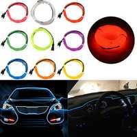 8M Single Color 5V USB Flexible Neon EL Wire Light Dance Party Decor Light