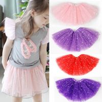 Baby Girls Princess Sequins Ballet Dance Tutu Skirt