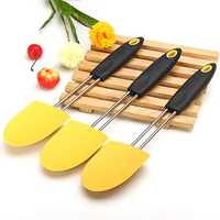 Large Silicone Cream Butter Scraper Pastry Shovel 32X6.7CM Multifunction Kitchen Tools