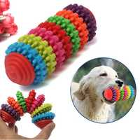 7 Floor Colorful Pet Dog Slide Gear Molar Teeth Cleaning Chew Toy