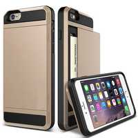 Hidden Card Slot PC TPU Case For iPhone 5 5S SE