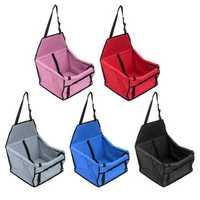 Dog Pet Car Mat Waterproof Breathable Safety Seat Belt Cover Travel Storage Bag