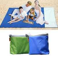 200x200cm Picnic Mat Ground Sheet Waterproof Outdoor Foldable Beach Camping Multilayer Moisture Proof Mat Blanket