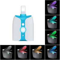 LED Toilet Night Light Sensor Motion Activated 8 Colors Changing Bowl Nightlight for Washroom Bathroom UV sterilization