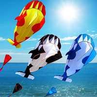 Whale Kite Single Line Stunt Kite Outdoor Sports Toy Children Kids