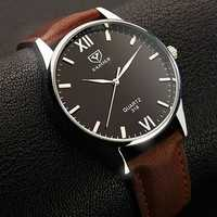 YAZOLE 318 Luminous Display Casual Style Clock Men Watch