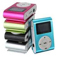 Mini USB Clip MP3 Music Media Player LCD Screen Support 32GB TF Card