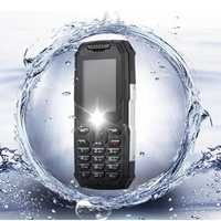 Snowpow M2 IP68 Waterproof 2.4'' 2500mAh bluetooth FM Voice Recorder Long Standby Feature Phone