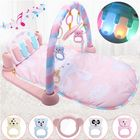 Discount pas cher 3 IN 1 Baby Fitness Kick Play Musical Piano Gym Play Baby Activity Exercise Mat