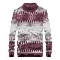 Leisure Turtleneck Sweater Warm Pullover