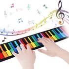 Meilleurs prix iword S2037 37 Keys 8 Tones Hand Roll Up Piano for Kids Musical Imstrument