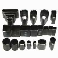 24 Shape Style Hole Hollow Cutter Punch Set For Handmade Leather Craft DIY Tool