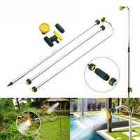 Outdoor Adjustable Shower Stand Holder Pool Patio Spa Backyard Garden Poolside Sprayer