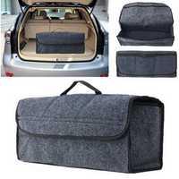 Car Seat Back Storage Bag Rear Travel Organizer Holder Interior Bag Box