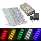 Best Price 200PCS 5 Colors SMD5050 LED Module Store Strip Light Front Window Lamp + Power Supply + Remote DC12V