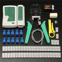 Raitool™CP10 RJ45 Cat5e Cat6 Network Ethernet LAN Cable Tester Crimper Crimping Tool Set