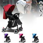 Meilleurs prix Foldable Baby Kids Travel Stroller Newborn Infant Pushchair Buggy Pram Lightweight Baby Carriage