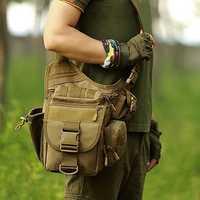 Men Waterproof Camera Bag Multi-functional Tactical Package