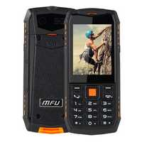 MFU A903S 3G Network IP68 Waterproof 2.8 inch 2700mAh True Wireless bluetooth FM GPRS Dual Camera Dual SIM Card Feature Phone
