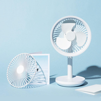 Solove F5 Desktop Fan 4000mAh Battery Capacity USB Charging Low Noise from Xiaomi Youpin - White