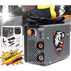 Meilleurs prix ZX7-200 220V 200A 4000W Mini MMA/ARC Inverter IGBT Electric Welding Machine with 2Pcs Clamp