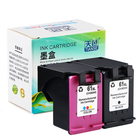 Good price TIANSE 1 Pack 61XL 61 XL Replacement Ink Cartridge HP61 61 for HP Deskjet 1000 1050 1055 2000 2050 2512 3000 J110a J210a J310a 5530 4500 Printer Ink