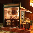 Acheter au meilleur prix Cuteroom DIY Dollhouse Handcraft Miniature Project Kit The Star Coffee Bar Music Wooden Doll House