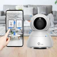 Xiaovv Q8 HD 1080P 360° Panoramic IP Camera Onvif Support Infrared Night Vision AI Mo-tion Detection Machine Panoramic Camera from xiaomi youpin