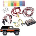 Les plus populaires 1 Set LED Light System for 1/10 Crawler Traxxas TRX4 Ford Bronco Ranger XLT RC Car Parts