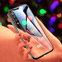 Bakeey Plating Transparent Shockproof Soft TPU Back Cover Protective Case for Xiaomi Mi 9 SE