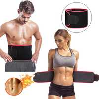 Sauna Suit Effect Adjustable Waist Trimmer Sweat Belt