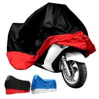 190T Waterproof Motorcycle Cover UV Protector Anti Wind Rain Snow Dust Cover 4XL