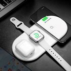 Recommandé Baseus 3 in 1 18W Qi Wireless Charger Fast Wireless Charging Pad Earbuds Charger Watch Charger For iPhone 11 Xiaomi Mi 10 Huawei P40 Pro Apple Watch Series 5 4 3 2 Apple AirPods