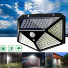 Acheter ARILUX® 100 LED Solar Powered PIR Motion Sensor Wall Light Outdoor Garden Lamp 3 Modes