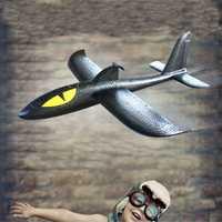 Electric Hand Throw Toy 36cm Glider EPP Foam DIY Plane Toy Model