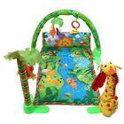 Meilleurs prix Rainforest Musical Baby Infant Activity Gym Floor Crawl Play Mat Bedding Butterfly Grasp Kick Toys
