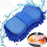 Magic Chenille Elastic Washing Gloves Clean Sponge Cloth Washing Car Window Home Cleaning Tools